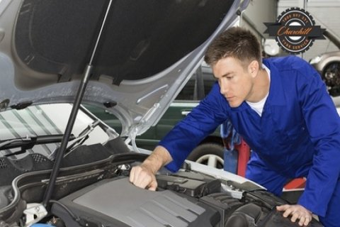 Major Car Service with Wheel Alignment for 1 ($59) or 2 Cars ($99) at Churchill Tyre...