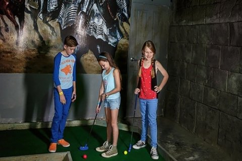 18 Holes of Mini Golf for One Child ($3), Adult ($6) or Family of Four ($15) at Carrara...