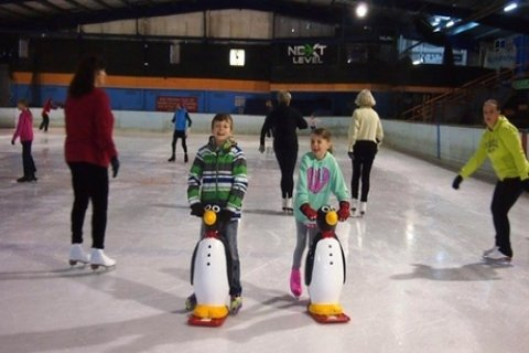Ice Skating Session for One ($10) or Four People (From $27) at Olympic Ice Skating Centre...