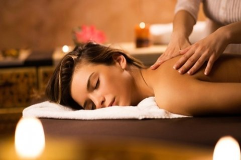 1-Hr Massage and Ion Cleanse Package for One ($29) or Two People ($58) at Magic Hands...
