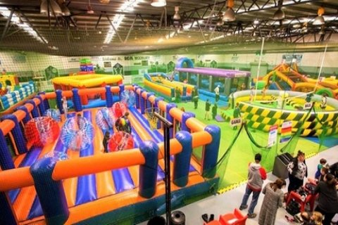 Two-Hour Pass to Inflatable Arena for One ($10), Two ($20) or Four People ($40) at Xtreme...