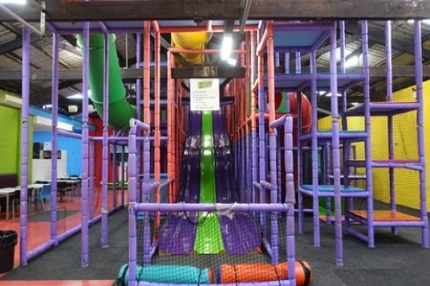 Play Centre Entry with $15 Play Credits for One ($6.50) or Four Children ($26) to Zoom...