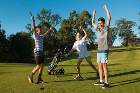 All-Day Unlimited Play Pass for One ($10), Two ($20) or Four People ($38) at SUPA GOLF...