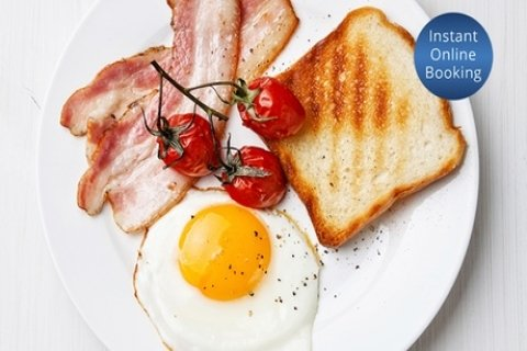 All-Day Breakfast or Lunch with Coffee for Two ($25) or Four People ($49) at Coast Cafe...