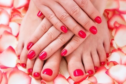 Gel Manicure ($25) or Gel Pedicure ($30) at Beauty Stop Myer Centre (Up to $50 Value)