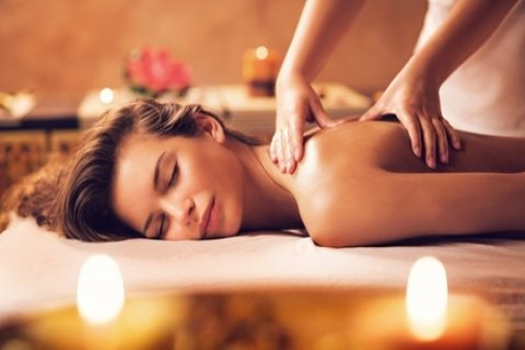Choice of One-Hour Massage Package for One ($39) or Two People ($78) at Golden Skin...