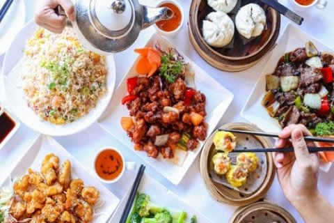 9-Course Chinese Banquet for Two ($49) or Four People ($95) at Yum Cha Garden City, Upper...