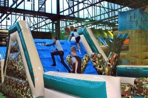 2-Hr Inflatable Zone Pass: 1 ($10), 2 ($18), 4 ($35), 6 ($49) or 8 Ppl ($59) at Mega...