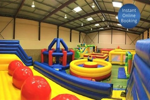 Entry to Inflatable Zone for One ($10), Two ($19) or Four People ($36) (Up to $64 Value)