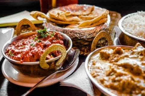Three-Course Indian Dinner with Sides & Wine: 2 ($35), 4 ($65) or 6 People ($95) at...