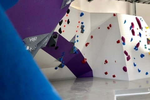 Full-Day Bouldering Pass with Shoe Rental for One ($14) or Two People ($28) at 9 Degrees...