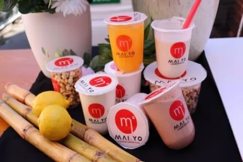 Chilled Yoghurt Drink Each for One ($3.99), Two ($7.95) or Four People ($15.90) at Maiyo...