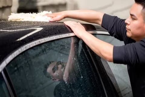 Exterior Wash ($10) + Wax ($25) or Air Fragrance ($45), or Full Detail ($159) at Ideal...