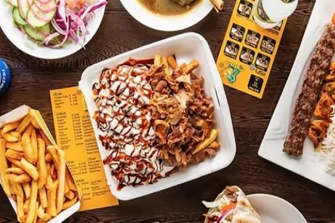 Halal Snack Pack + Drink or Kebab Meal for 1 ($8.90), 2 ($17.80) or 4 People ($35.50) at...